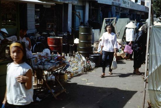 Chợ trời ở Vũng Tàu.