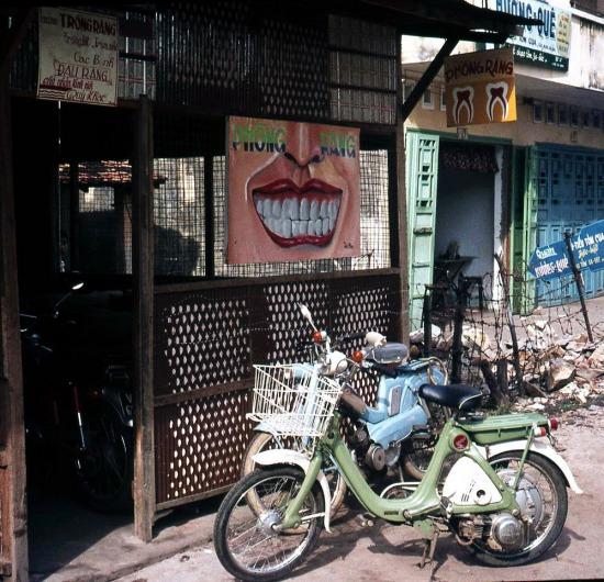Một phòng chữa răng.