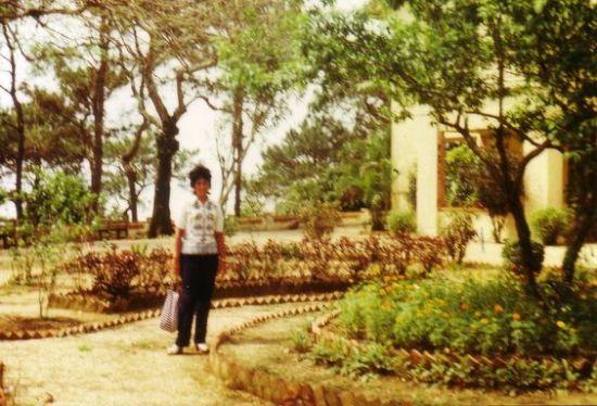 Tại một công viên ở Hà Nội.