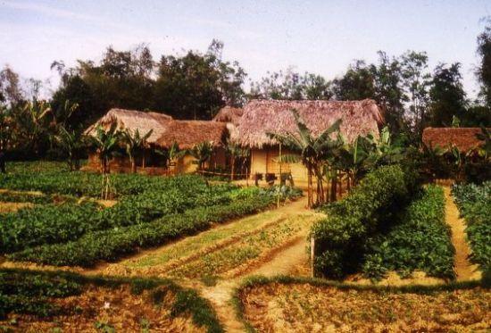 Ngôi làng ở Cam Giá, Thái  Nguyên.