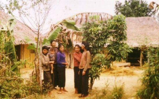 Người dân một ngôi làng ở Đồng Hỉ, Thái Nguyên.