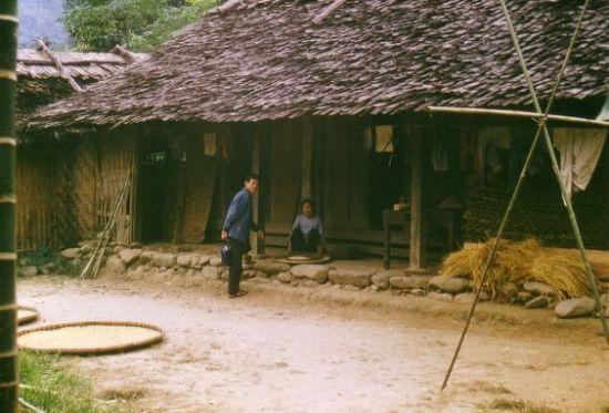 Một ngôi nhà ở Cam Giá.