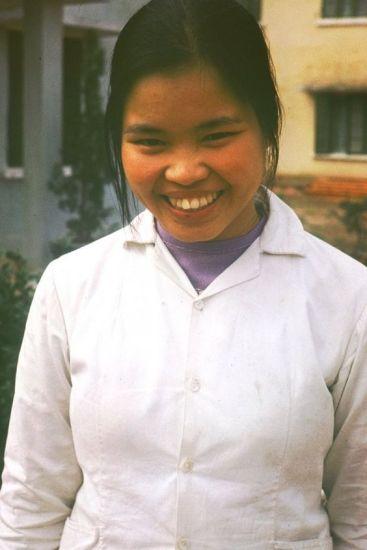 Nụ cười của cô gái Thái Nguyên.
