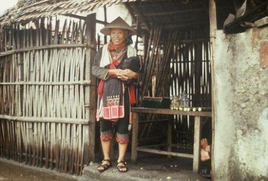 Người dân tộc thiểu số ở Thái  Nguyên.