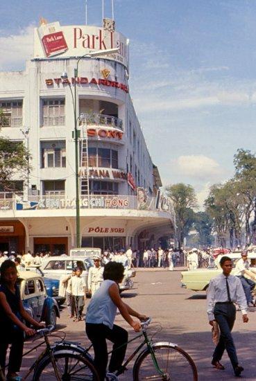Khu vực trung tâm thành phố Sài Gòn