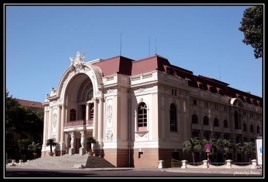 Nhà hát thành phố (trước 1975, đây là trụ sở Hạ Nghị viện)