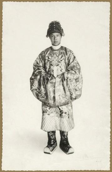 Chân dung vua Bảo Đại, ảnh chụp năm 1928