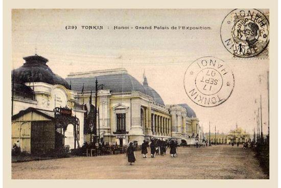 Sau khi kết thúc triển lãm, tòa nhà chính trở thành bảo tàng Maurice Long, bảo tàng kinh tế đầu tiên và lớn nhất Đông Dương. Năm 1945, tòa nhà bị máy bay Mỹ ném bom do lúc đó Nhật chiếm làm doanh trại và kho vũ khí. Những năm 1960, một nhà hát ngoài trời bằng gỗ được dựng tại đây. Đến năm 1978, Cung Văn hóa Lao động Hữu nghị Việt-Xô do kiến trúc sư Liên Xô Garold Grigorievich Isakovich (1931-1992) thiết kế được khởi công. Khánh thành năm 1985, khi đó cũng là công trình lớn nhất Hà Nội. Ông cũng là kiến trúc sư đã tham gia thiết kế Lăng Chủ tịch Hồ Chí Minh năm 1975.