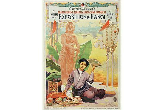 Áp phích quảng bá Đấu xảo Hà Nội 1902