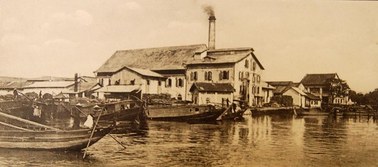 Nhà máy xay gạo của người Hoa.