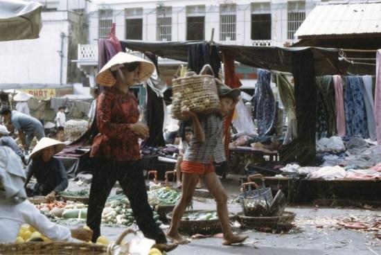 Một góc chợ.