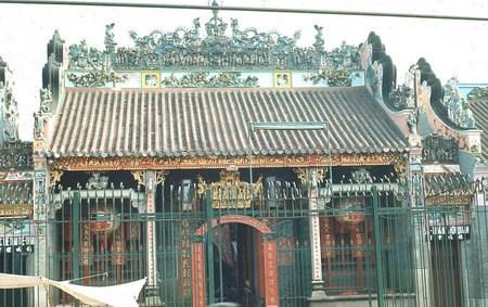 Hội quán Tuệ Thành trên đường Nguyễn Trãi, khu vực Chợ Lớn.