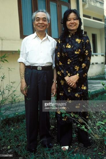 Đại tướng và phu nhân Đặng Bích Hà.