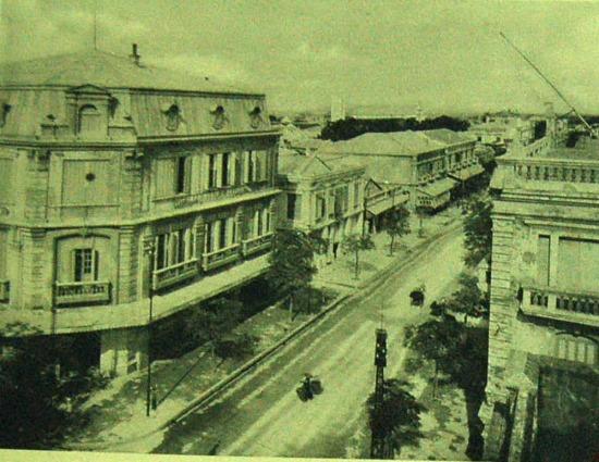 Trục đường chính của thành phố Hải Phòng.