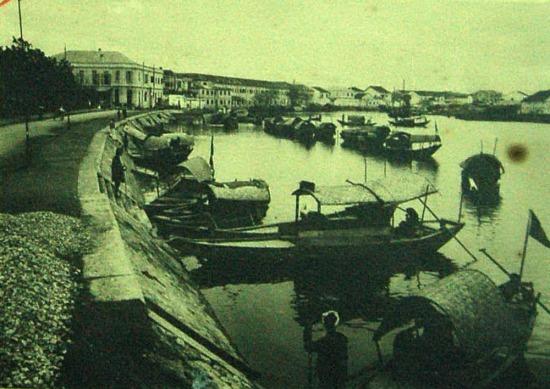 Sông Tam Bạc, thành phố Hải Phòng.