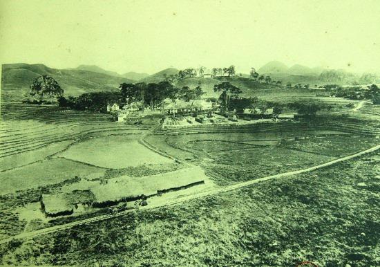 Ruộng nương và bản làng ở Mẫu Sơn, Lạng Sơn.