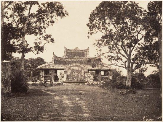 Lăng Cha Cả, khoảng năm 1866.