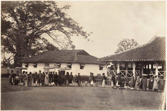 Một đám cưới ở Sài Gòn năm 1866.