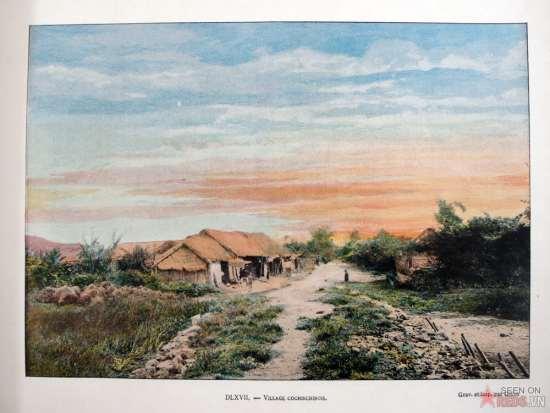 Một ngôi làng ở Nam Kỳ.