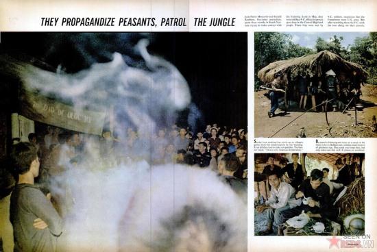 Jean-Piere Moscardo và Gerald Robion là hai nhà báo tự do, đã dành khoảng 3 tháng ở miền Nam Việt Nam trong nỗ lực liên hệ với quân Giải phóng. Đầu tháng 5/1965, họ đã gặp lực lượng Giải phóng ở một địa điểm thuộc Tây Nguyên, nhưng bị tình nghi là gián điệp của Mỹ. Sau khi tra hỏi, các chiến sĩ đã dẫn họ theo trên chặng đường tuần tra của mình.