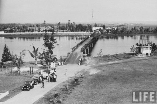 Đó là lý do khiến sự tồn tại của Khu phi quân sự vĩ tuyến 17 và cầu Hiền Lương chỉ kéo dài đến năm 1967.