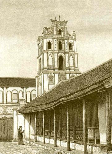 Nhà thờ ở Nam Định.