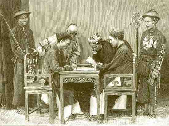 Cuộc gặp mặt của các học giả.