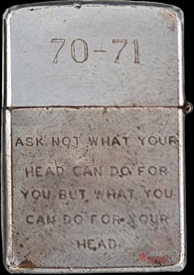 """""""Đừng hỏi cái đầu giúp được gì cho bạn mà hãy hỏi bạn làm gì để bảo vệ cái đầu của mình""""."""