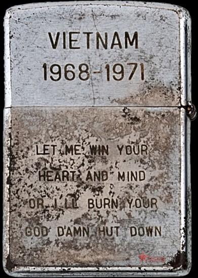 """Thông điệp rắn rỏi của một lính Mỹ về cuộc chiến tranh Việt Nam: """"Hãy để ta thắng ngươi bằng trái tim và tâm hồn mình, hoặc ta sẽ thiêu rụi cho tới từng túp lều đáng nguyền rủa của ngươi""""."""