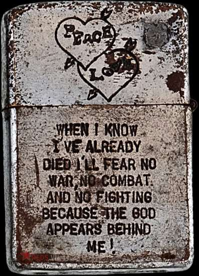 """Một trải nghiệm của người Lính: """"Khi tôi biết cái chết kề cận, tôi không còn sợ chiến tranh, chiến trường, các trận đánh, bởi Chúa đang ở sau lưng tôi""""."""
