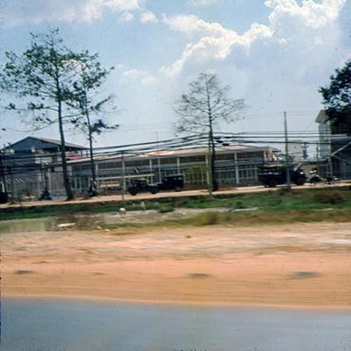 Bệnh viện Dã Chiến 3 ở đường Võ Tánh (nay là đường Nguyễn Trãi).