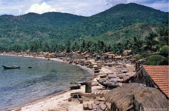 030.Quốc lộ 1 là đập và đánh cá Đại Lãnh