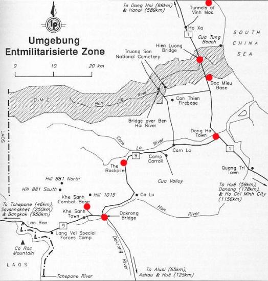 057.Vĩ tuyến 17 chia hai miền biên giới giữa miền Bắc và miền Nam Việt Nam