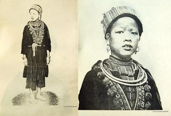 Phụ nữ người Mán Cốc.