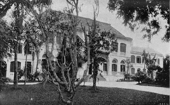 Tòa khâm sứ Pháp tại Huế.