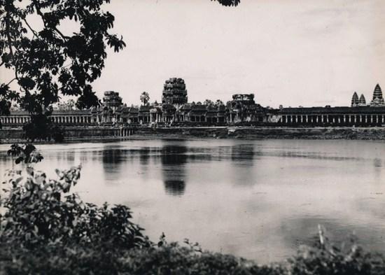 Kỳ quan Angkor Wat của Campuchia thời thuộc địa.