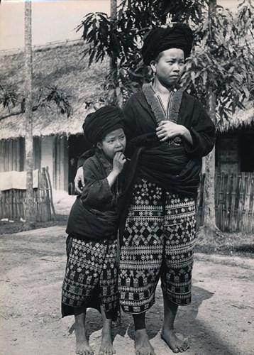 Người dân tộc Dao trong trang phục truyền thống.