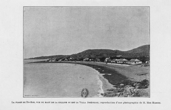 Bãi biển Đồ Sơn năm 1903.