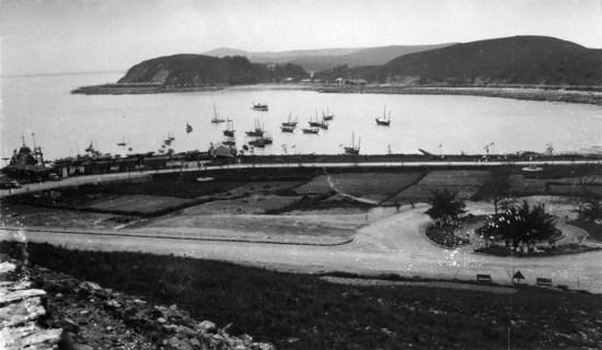 Một góc Đồ Sơn những năm 1938 - 1939.