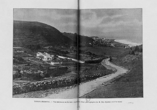 Hình ảnh Đồ Sơn thời thuộc địa trong một cuốn sách của Pháp.