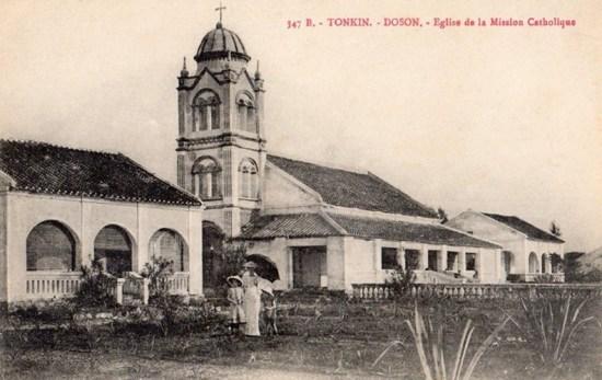 Nhà thờ Đồ Sơn (ngày nay không còn tồn tại).