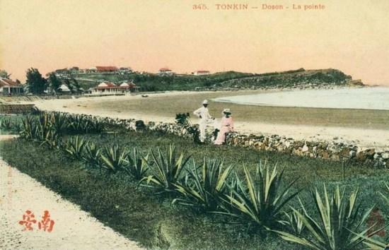 Một góc bãi biển Đồ Sơn thời thuộc địa.