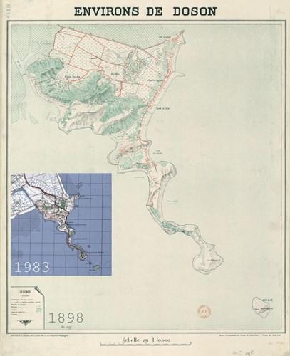 Bản đồ Đồ Sơn năm 1898.