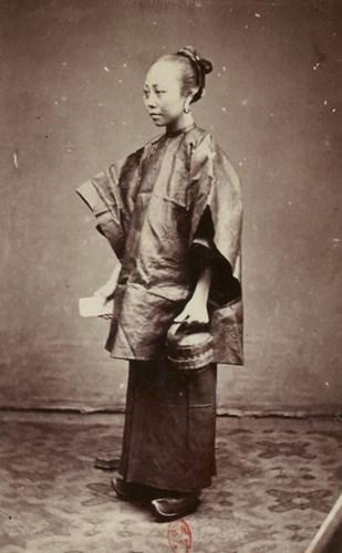 Phụ nữ người Hoa ở Sài Gòn.