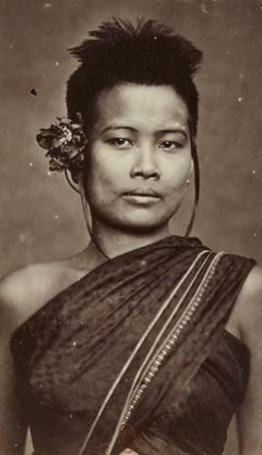 Chân dung người đẹp Campuchia.
