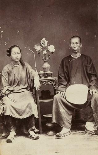 Thiếu nữ An Nam và đàn ông người Hoa.