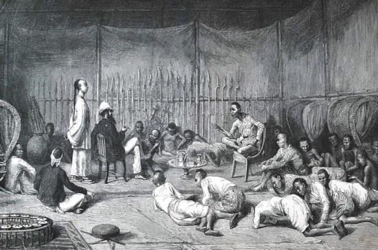 Harmand gặp một vị hoàng tử tại Oubon, Thái Lan trong thời gian ông làm nhà ngoại giao tại Thái.