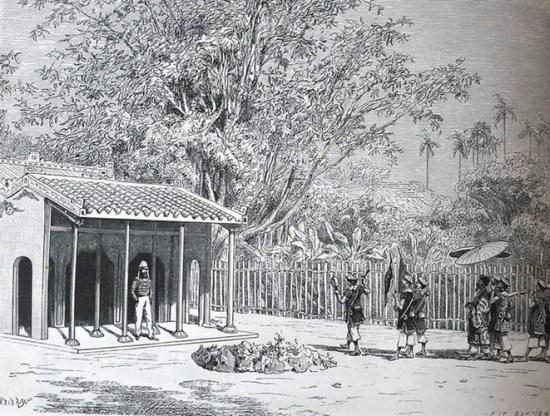 Thăm nhà một ông quan ở Cam Lộ, Quảng Trị.