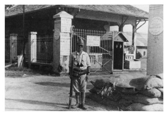 Chân dung một người lính Nhật Bản thời kỳ Nhật chiếm đóng Đông Dương.