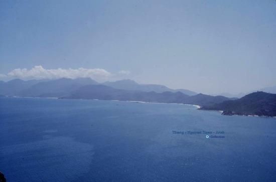 Toàn cảnh vùng vịnh Cam Ranh.